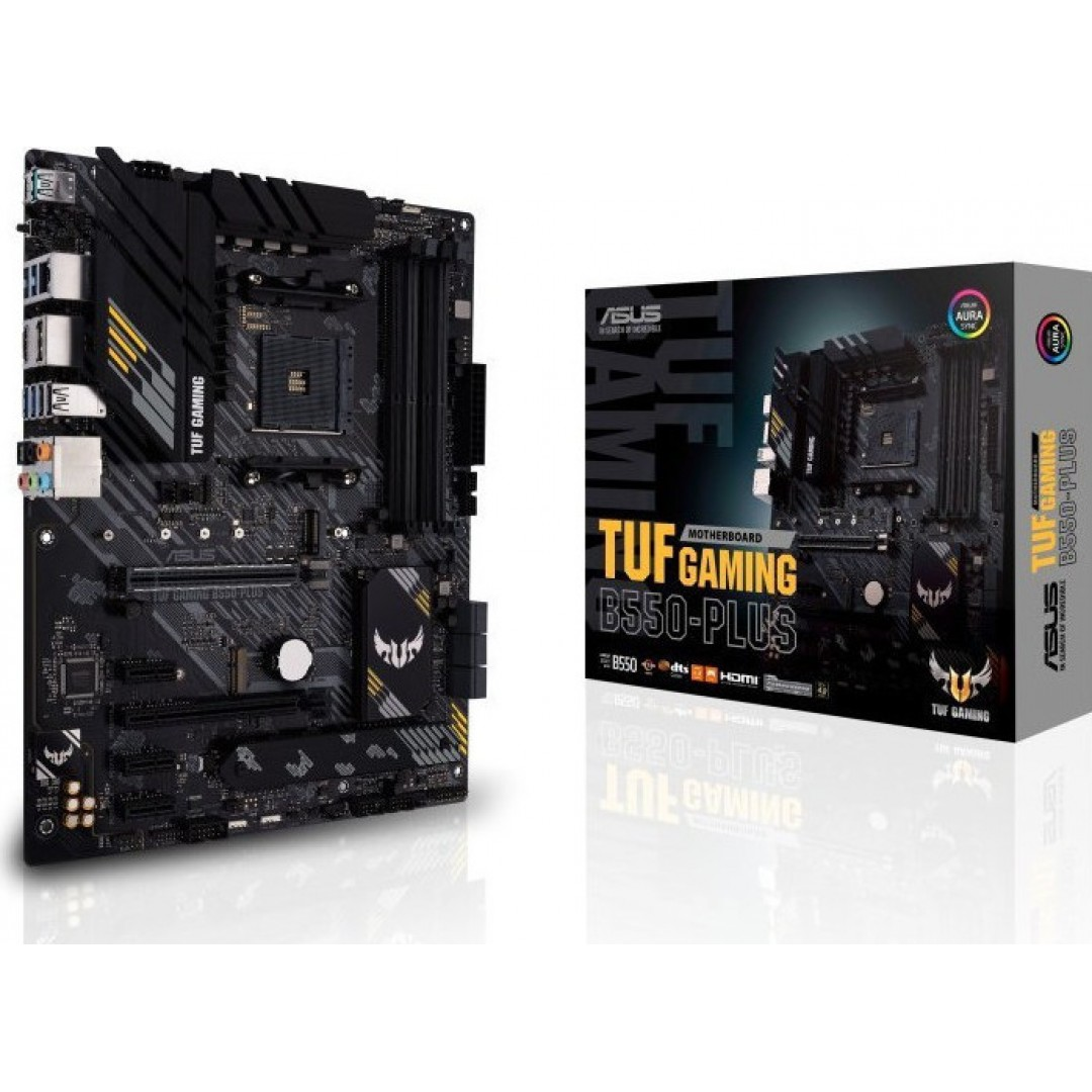 MOTHERBOARD ASUS TUF GAMING B550-PLUS AM4 AMD 90MB14G0-M0EAY0