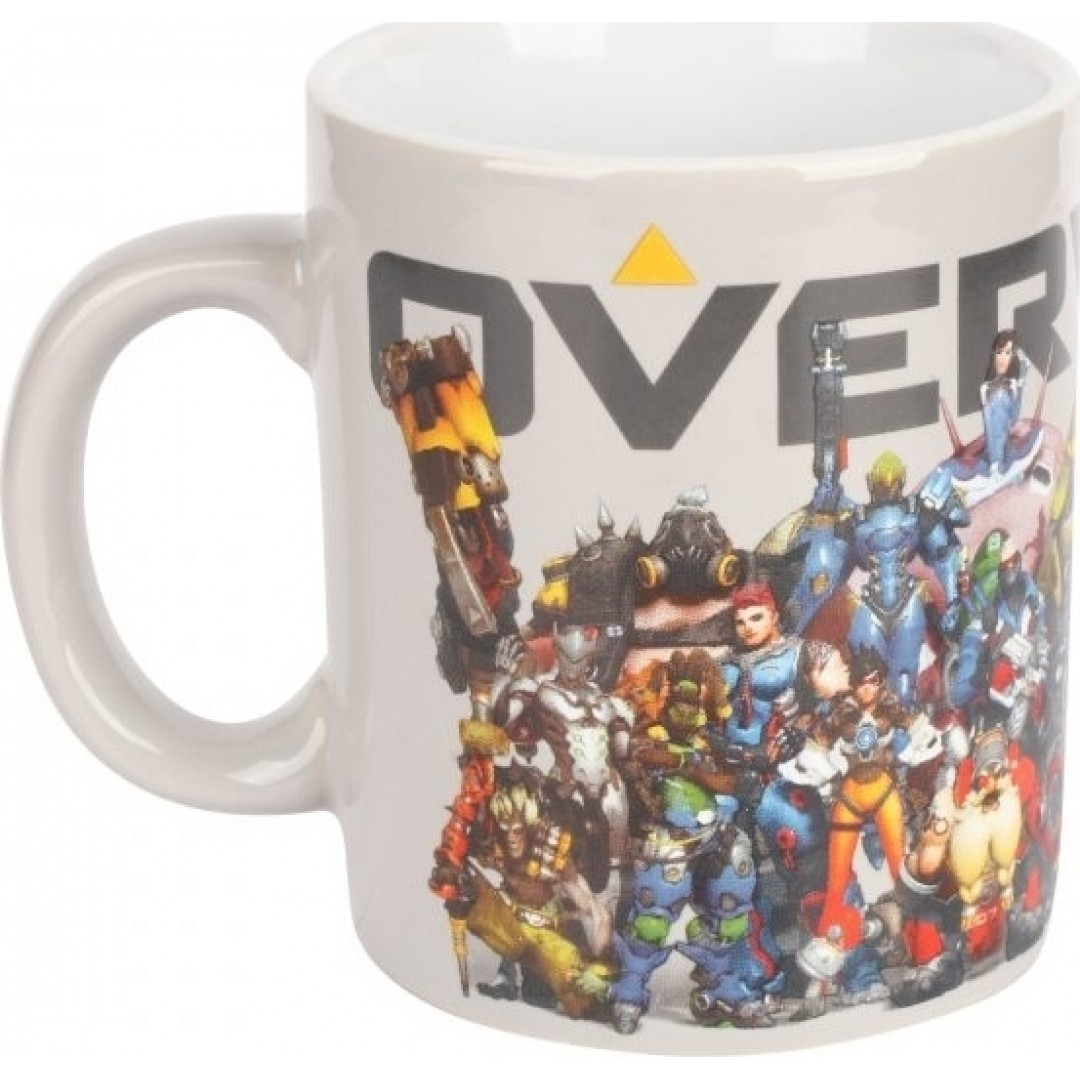 MUG OVERWATCH HEROES COLLIDE CERAMIC
