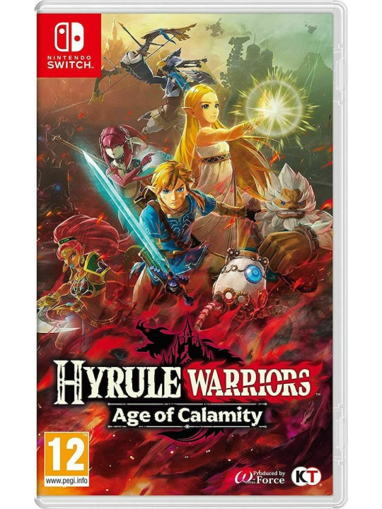 NINTENDO SWITCH HYRULE WARRIORS AGE OF CALAMITY GAME