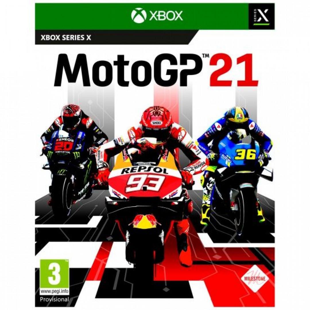 XBOX SERIES X MOTO GP 21 GAME OPEN BOX