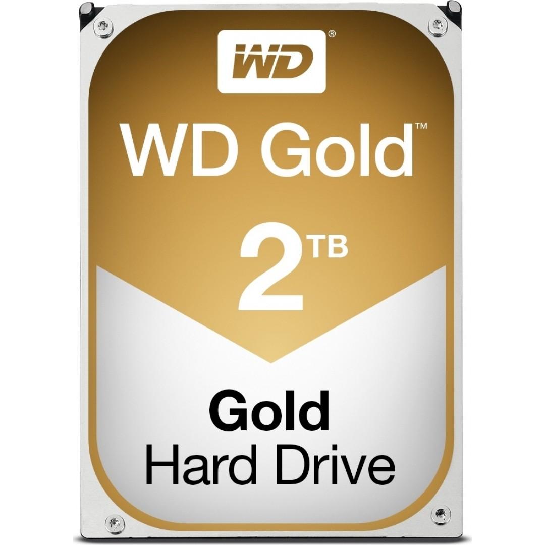 """HDD WD GOLD 2TB 3.5"""" SATA 3 128MB CACHE WD2005FBYZ"""