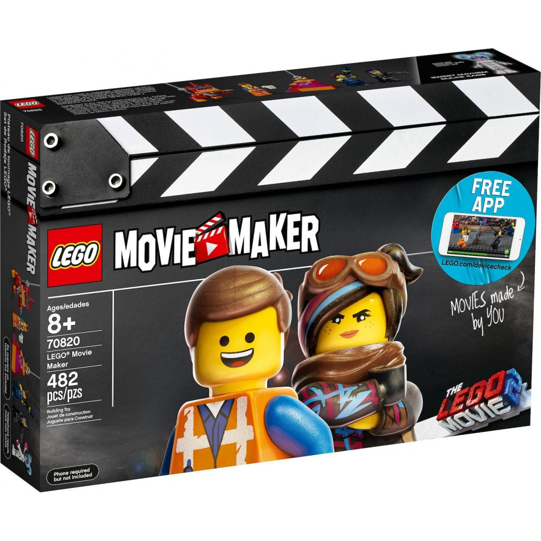 LEGO MOVIE 2 MAKER 70820