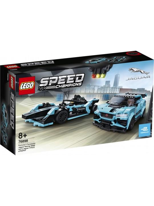 LEGO SPEED CHAMPIONS 76898 FORMULA E PANASONIC JAGUAR GEN 2
