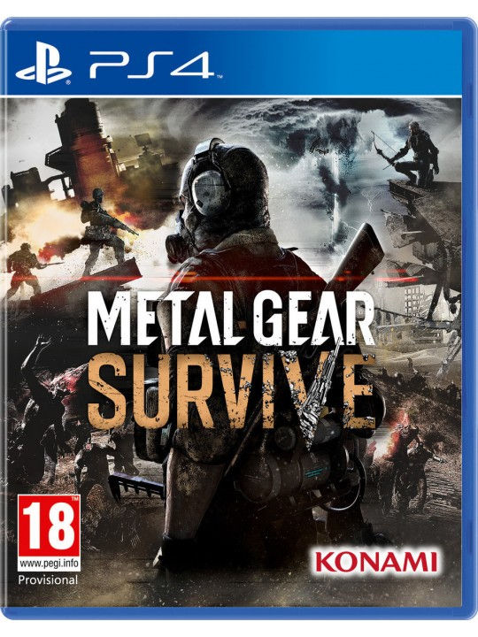 PS4 METAL GEAR SURVIVE GAME