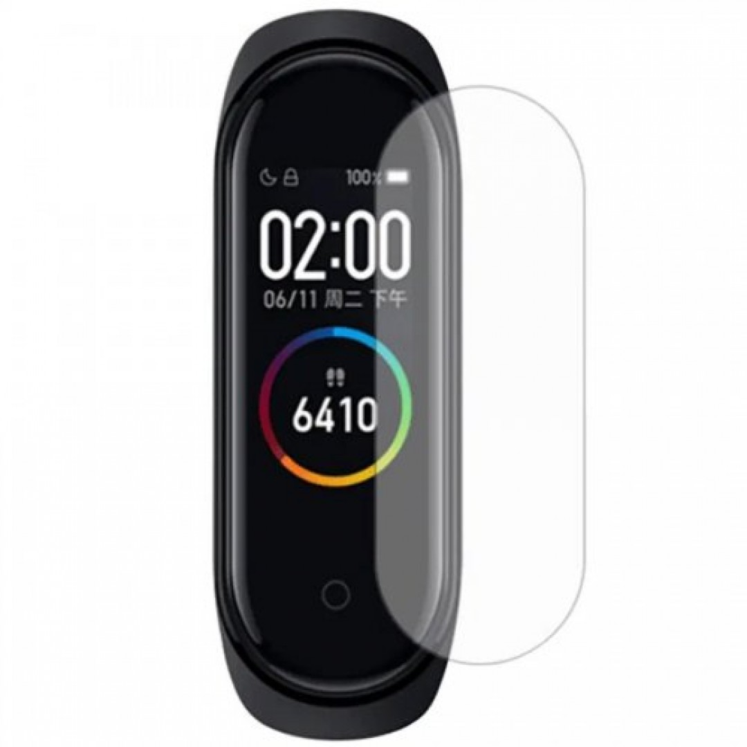 TEMPERED GLASS 9H FOR XIAOMI BAND 4 SMARTWATCH FLEXIBLE