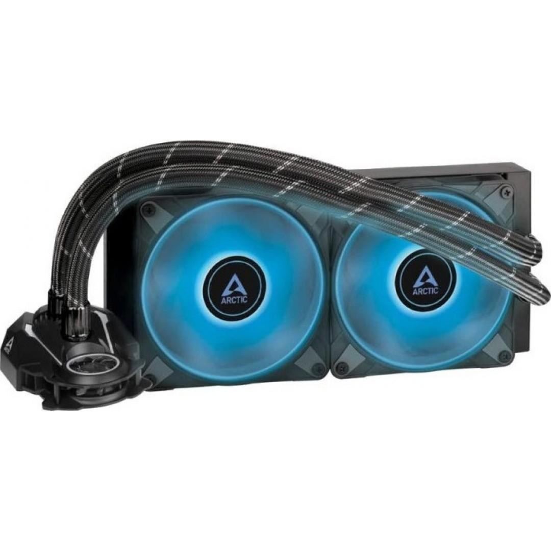 COOLER HYDRO ARCTIC LIQUID FREEZER II 240mm RGB AIO CPU WATER COOLER BLACK ACFRE00098A