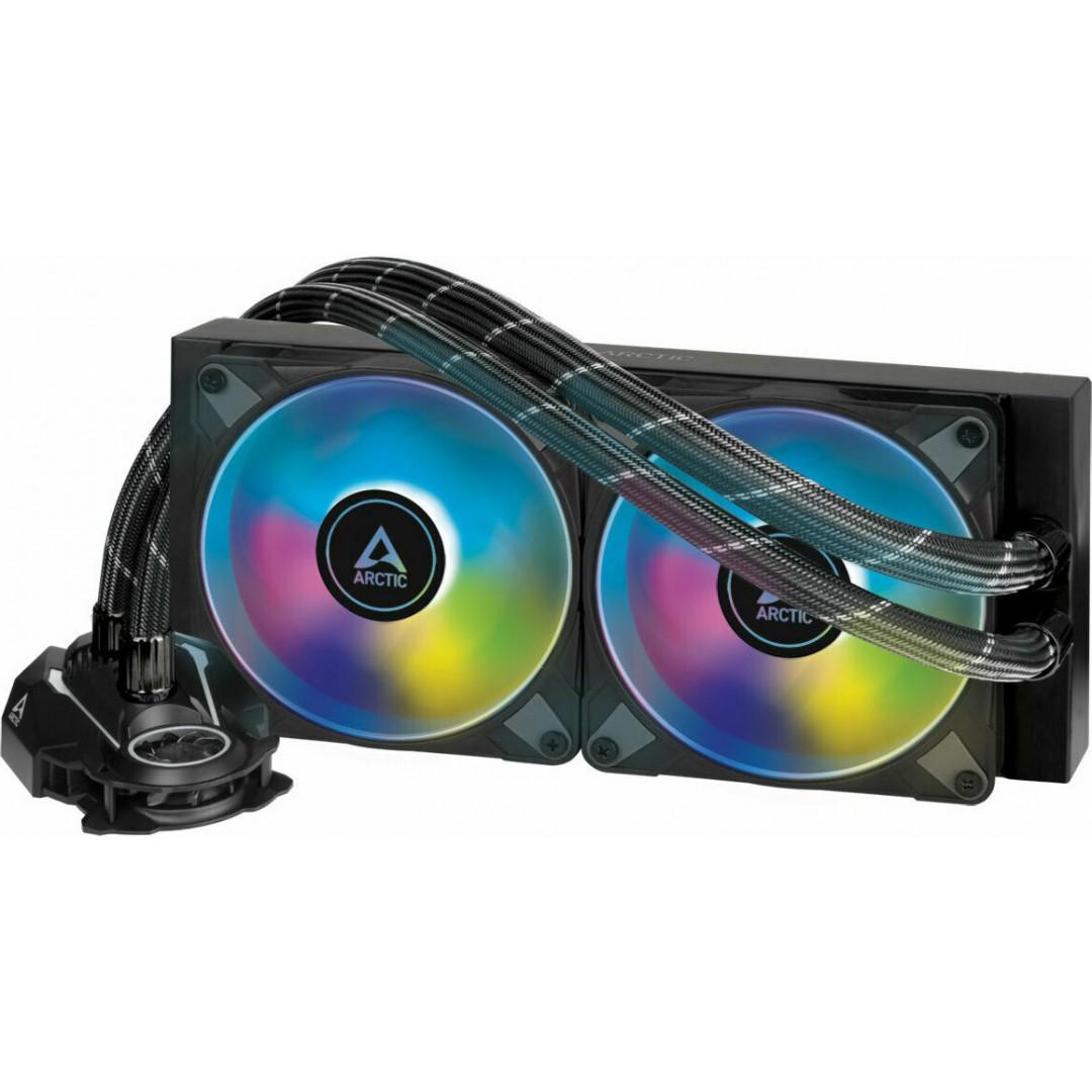 COOLER HYDRO ARCTIC LIQUID FREEZER II 240mm A-RGB AIO CPU WATER COOLER BLACK ACFRE00093A