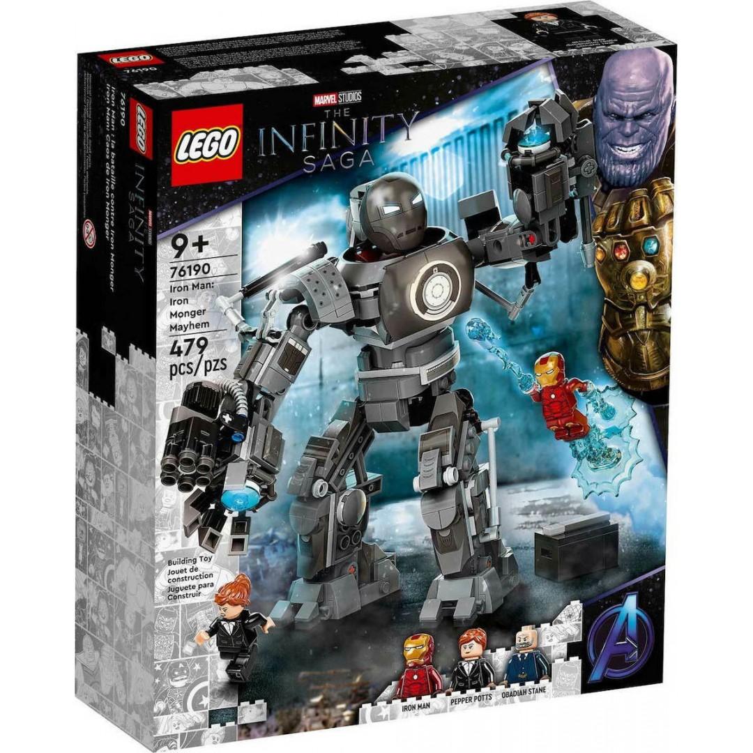 LEGO MARVEL 76190 IRON MONGER MAYHEM SET