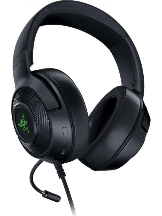 HEADSET RAZER KRAKEN V3 X USB CHROMA 7.1 GAMING HEADSET RZ04-03750100-R3M1